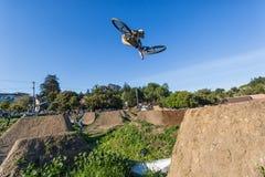 Santa Cruz Mountain Bike Festival - stolpe - kontorshopp Arkivfoto