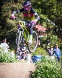 Santa Cruz Mountain Bike Festival - stolpe - kontorshopp Royaltyfri Fotografi
