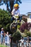 Santa Cruz Mountain Bike Festival - stolpe - kontorshopp Royaltyfria Bilder