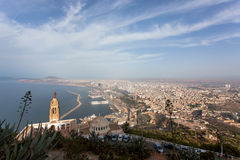 Santa Cruz,Oran. Notre Dame de Santa Cruz,Oran,Algeria Royalty Free Stock Photo