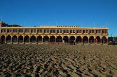 Santa cruz promenady zdjęcia royalty free