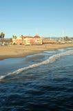 Santa cruz promenady Zdjęcie Royalty Free