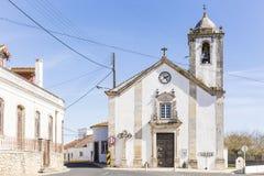 Santa Cruz robi Pombalinho farnemu kościół w Pombalinho Zdjęcia Royalty Free