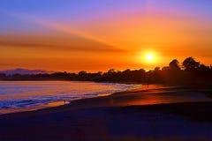 Santa Cruz Sunrise Royalty Free Stock Photo