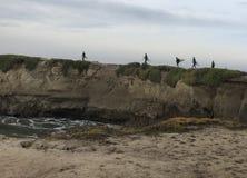 Santa Cruz Surfing fotos de archivo