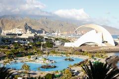 Santa Cruz, Tenerife, Kanarie, Spanje, Europa stock afbeelding