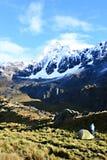 Santa Cruz Trek - Huascaran National Park, Peru Royalty Free Stock Image