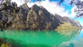 Santa Cruz Trekking Huaraz Mountains stock videobeelden