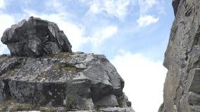 Santa Cruz Trekking Huaraz Mountains stock video