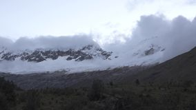 Santa Cruz Trekking Huaraz Mountains stock footage