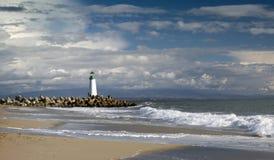 Santa Cruz Walton latarnia morska fotografia stock