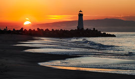 Santa Cruz Walton Lighthouse in the morning Stock Images