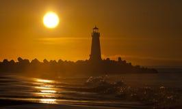 Santa Cruz Walton Lighthouse in the morning Stock Photo