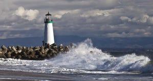 Santa Cruz Walton Lighthouse Royalty Free Stock Photo