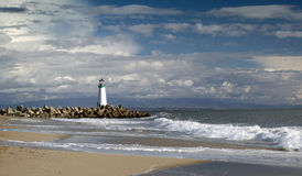 Santa Cruz Walton Lighthouse Stock Photography