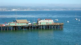 Santa Cruz Wharf Royalty Free Stock Photo