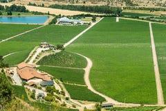 Santa Cruz winnica obrazy stock