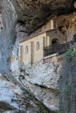 Santa Cueva de Covadonga, Cangas de Onís, Spain Stock Photography