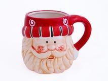 Santa cup Stock Image