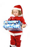 Santa Curly pequena Imagens de Stock