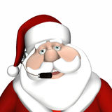 Santa Customer Service 1 Royalty Free Stock Photo