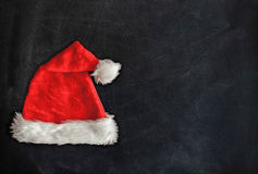 Santa czerwony kapelusz Obraz Royalty Free