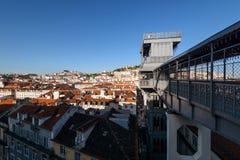 Santa Dźwignięcie Justa, Lisbon, Portugalia Zdjęcie Royalty Free