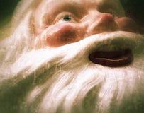 Santa d'annata affronta il lerciume Immagini Stock