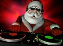 Santa dans la Chambre du DA Photos libres de droits