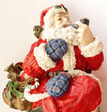 Santa de fumo Imagem de Stock Royalty Free