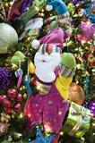 Santa de ondulation photo stock