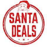 Santa deals sign or stamp royalty free illustration
