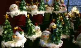 Santa decorations Stock Images