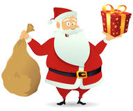 Santa Delivery Royalty Free Stock Photography