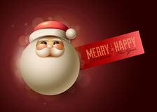 Santa Design Template Photo libre de droits