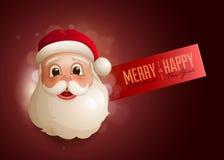 Santa Design Template Image stock