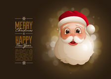 Santa Design Template Stock Images