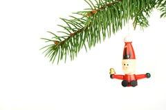 Santa di legno Fotografie Stock