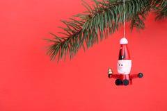 Santa di legno Fotografia Stock Libera da Diritti