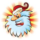 Santa di risata Fotografia Stock Libera da Diritti