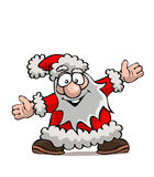 Santa divertente Fotografie Stock