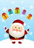 Santa divertente royalty illustrazione gratis