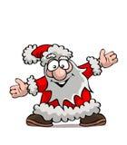 Santa divertido stock de ilustración