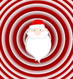 Santa divertido Fotografía de archivo libre de regalías
