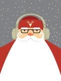 Santa DJ Royalty Free Stock Photography
