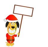 Santa Dog Royalty Free Stock Photography