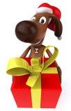 Santa dog Royalty Free Stock Images