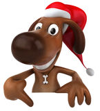 Santa dog Royalty Free Stock Photo