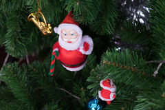 Santa Doll Stockbilder