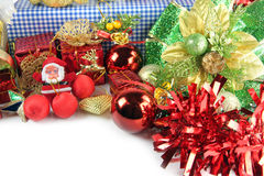 Santa doll and Accessory decorations of Christmas day. Stock Photography